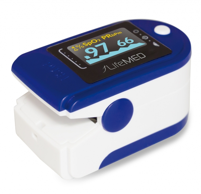 Pulsossimetro Portatile Da Dito Con Indice Di Perfusione